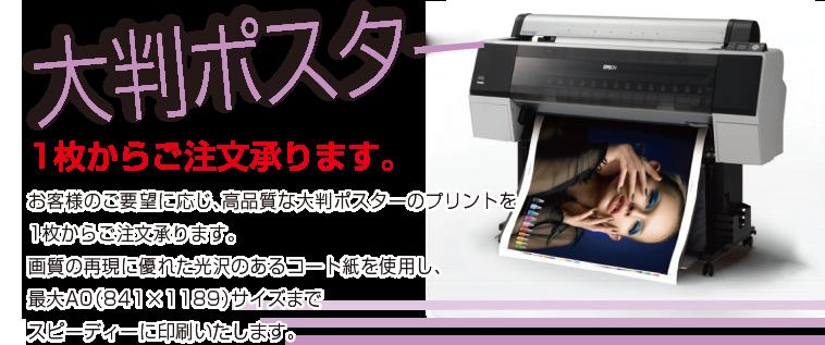 大判ポスター